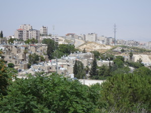 Hebrew University - View of the Wall
