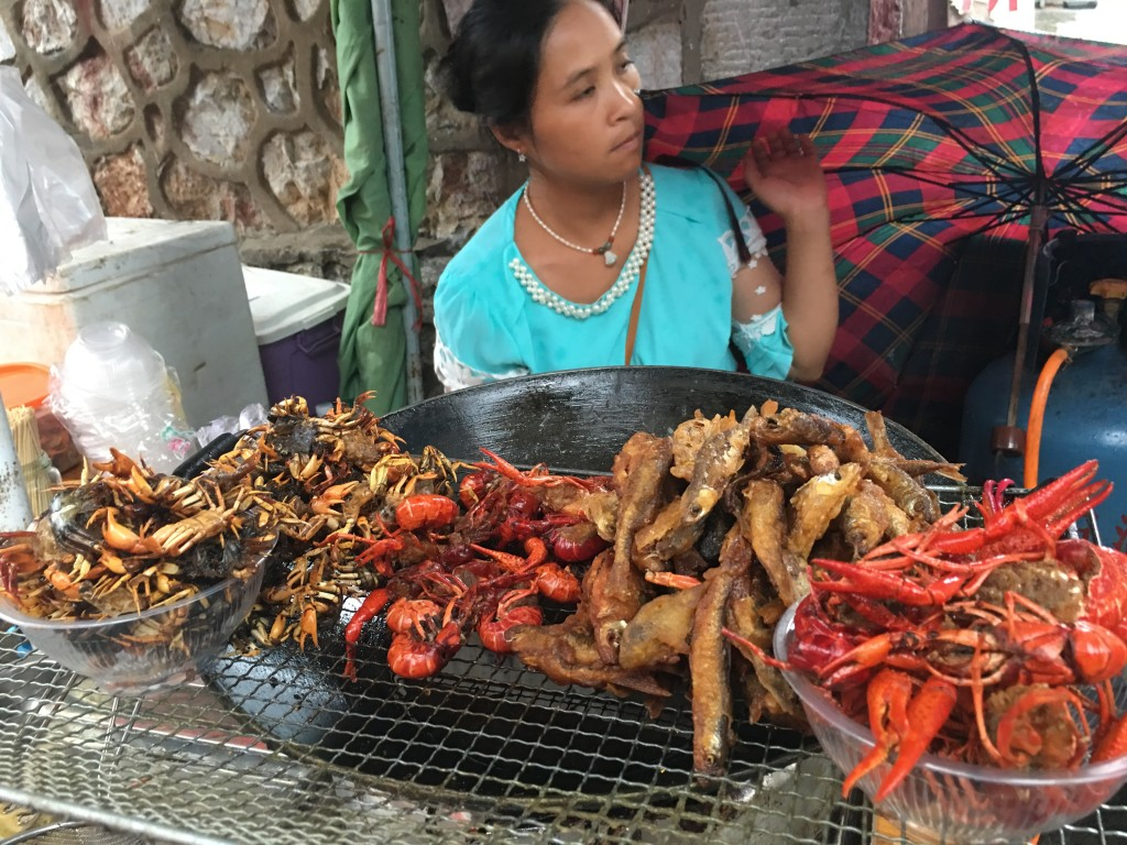 Fried Crab Seller
