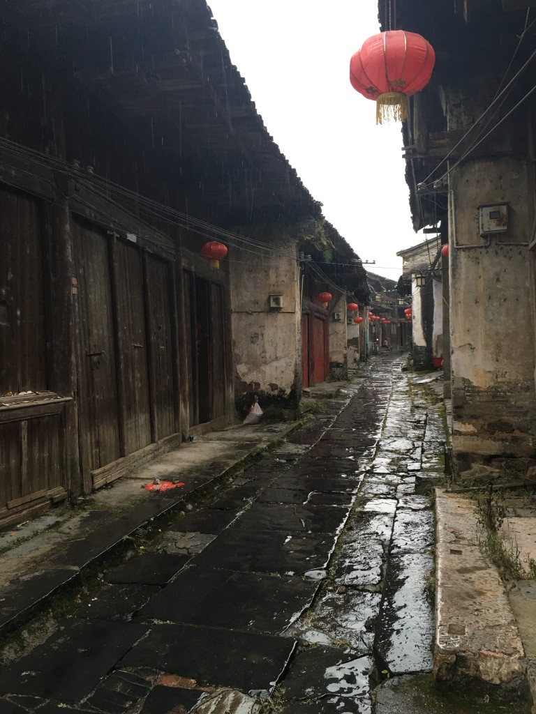 Daxu Street With Wooden Homes