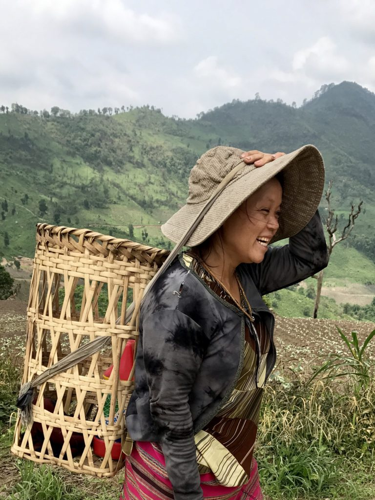 Karen Tribe Rice Farmer